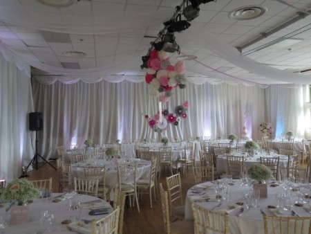 School Hall Draping