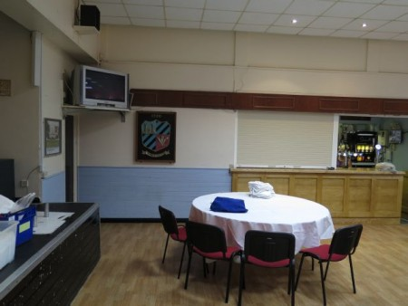 Rumney Rugby Club Draping