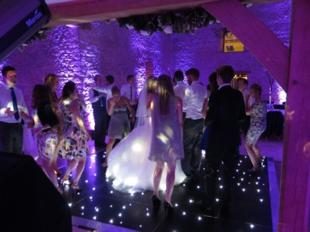 Black Light Up Dancefloor Hire Gloucestershire