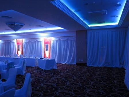 Cheltenham Chase Hotel Wedding Draping
