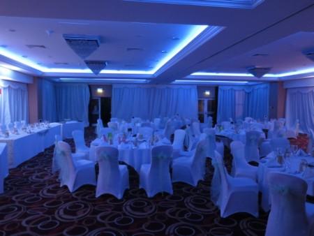 Cheltenham Chase Hotel Draping and lighting