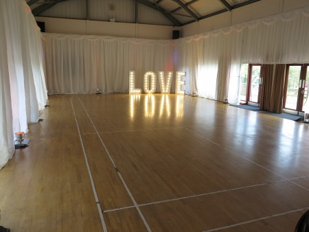 Hereford Draping hire