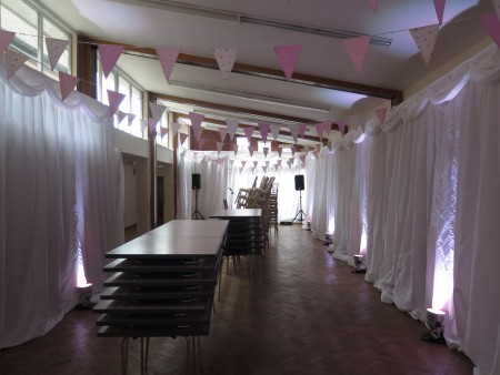 Wedding Draping All Saints Church Walsall
