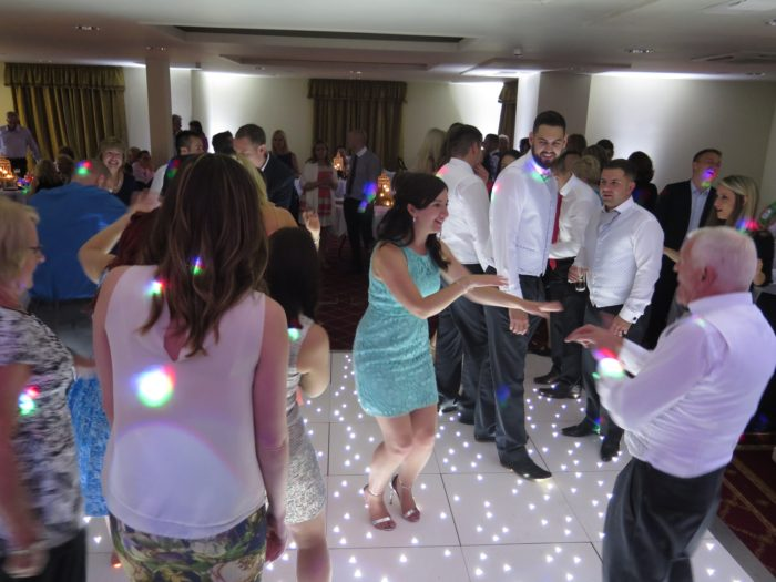 White LED Dancefloor Hire