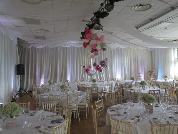 Wedding Venue Draping Hire